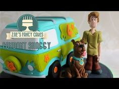 How to make a fondant Shaggy from Scooby-Doo How to Cake Decorating Tutorial - YouTube