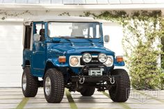 1982 Toyota Land Cruiser FJ40 Medium Blue #fjco1982mediumblue #fjcompany #fj40 #toyota #landcruiser #fjrestoration