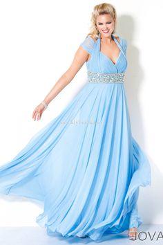 Princesa en Azul Frente