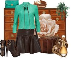 """""""Leather at its best"""" by armband ❤ liked on Polyvore"""