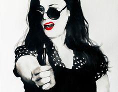 Cat Eye Sunglasses, Portraits, Paintings, Eyes, Fashion, Moda, Paint, Fashion Styles, Head Shots
