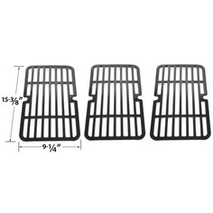 3 PACK PORCELAIN STEEL REPLACEMENT COOKING GRID FOR MAXFIRE, BRINKMANN, CHARBROIL, HOME DEPOT GAS GRILL MODELS Fits Compatible Maxfire Models : 810-9212-S, Maxfire 810-9213-S
