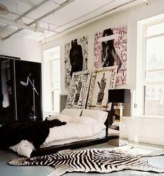 Chad Musckas bedroom by Ryan Korban