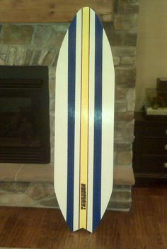 Surfboard decor #diy