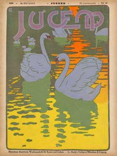 """Image detail for -arh346: History of Graphic Design (and more): """"Jugend"""" Magazine"""
