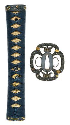 A finely mounted katana koshirae Edo period century Katana Swords, Samurai Swords, Sword Drawing, Sword Art, Japanese Sword, Japanese Art, Samurai Artwork, Sword Design, Sword Fight