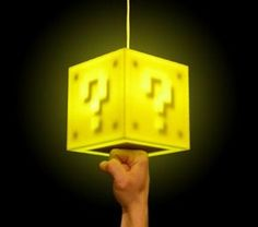 Interactive lamp..turns on when you punch it!