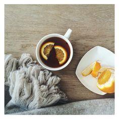 winter tea / cozy knit