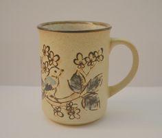 Keramikkopp med fugler NOK 50