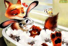 Bath the bun!