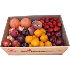 Out of the Box, Summerland All Fruit Box ($40) ❤ liked on Polyvore featuring food, fillers, food and drink, other and decor
