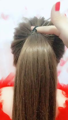 xin_fashion(@xin_fashion) on TikTok: A rubber band to get the ball head tutorial2⃣️ #hair Lace Braid, Christmas Hairstyles, Rubber Bands, Bobby Pins, Short Hair Styles, Braids, Hair Accessories, Knot, Beauty