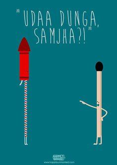 Hahaha Happy Diwali