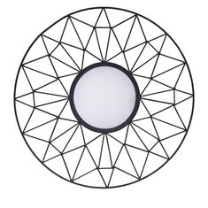Black Mirror, Round Mirrors, Geometric Designs, Geometric Patterns, Glyphs, Home Decor Styles, Gold Accents, Frames On Wall, Framed Wall