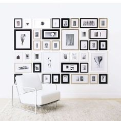 30 Amazing Picture Frame Clusters | Daily source for inspiration and fresh ideas on Architecture, Art and Design