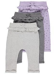 Browse our range of amazing value baby girls clothing and accessories at George at Asda. Our sleepsuits, outfits and more are all absolutely amazing value. Dresses Kids Girl, Cute Girl Outfits, Baby Girl Fashion, Kids Fashion, Kids Dress Patterns, Baby Girl Tops, Sewing Doll Clothes, Kids Pants, Kids Wear