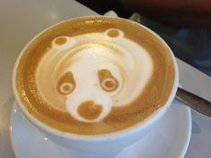 panda coffe OR frog eating a panda coffee? unsee that, pinterest.