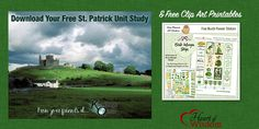 Free Printable Stickers & St Patrick Unit Study & Video #plannerstickers #free