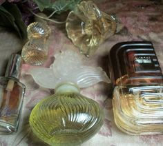 Cologne Fragrance Bottles Five Collectible Vintage Glass Boudoir Home Decor Perfume Avon Revlon Charlie Aviance Prince Machabeilli