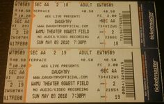#Daughtry #Lifehouse #WamuTheaterQwestField May 9, 2010