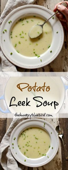 Potato Leek Soup, simple and delicious