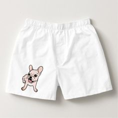 Cute cream Frenchie is ready to play Boxers - dog puppy dogs doggy pup hound love pet best friend