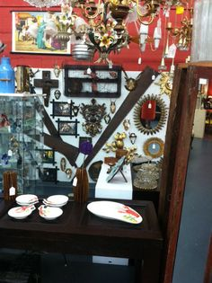Our booth at sugar chest antiques mall, 960 n ferderal highway, pompano beach fl, usa