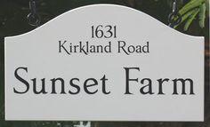 Farm Sign Ideas