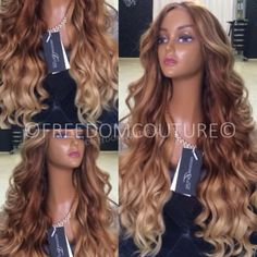 "#Hairgasm❤️❤️❤️❤️ ""FIORELLA"" she is just a Flawless colour Work #freedomcouture"