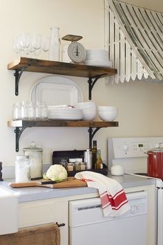 Antique Oven Awning