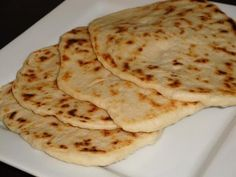 Naan Flatbread - Easy Recipe!