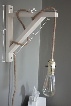 26 Industrial DIY Decor Ideas - From DIY Concrete Clocks to Metallic Tangle Lamps (TOPLIST)
