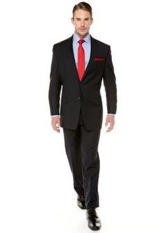 Calvin Klein Navy Slim Fit Navy Suit