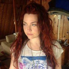 Red haired Amy Lee   ...   ایمی لی با موهای قرمز