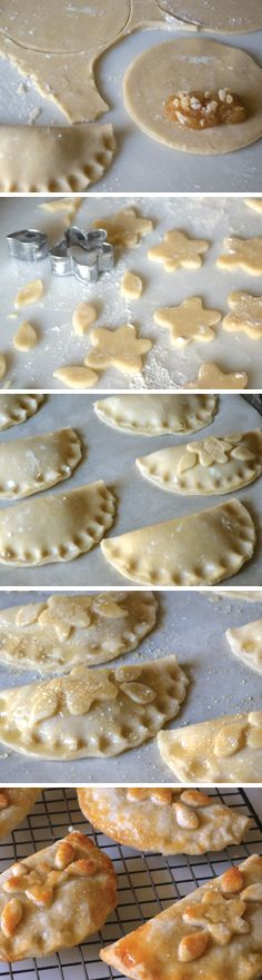 Apple Butter Ginger Hand Pies - east of eden cooking Fall Recipes, My Recipes, Sweet Recipes, Favorite Recipes, Pie Dessert, Dessert Drinks, Desserts, Muffins, Butter Tarts