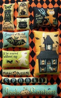 Set of 10 Grungy Primitive Halloween Bowl Filler Ornies Tucks on Etsy, £8.21
