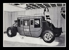 """""""Last Stage West"""" Show Car, 1975, via Flickr."""