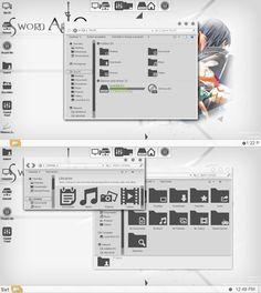 SAO SkinPack For Windows 7/8/8.1 | Cleodesktop