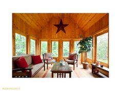 4 season porch Home Design, Covered Patio Design, Four Seasons Room, Three Season Porch, Sunroom Decorating, Decorating Ideas, Three Season Room, Sunroom Addition, Outdoor Patio Designs