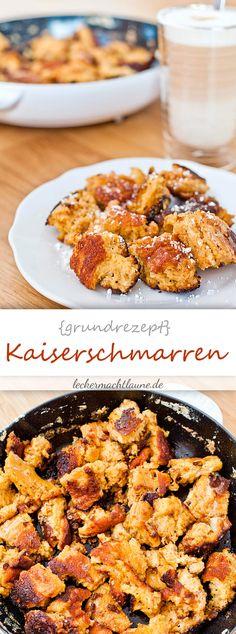 Kaiserschmarrn {grundrezept}