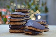 Galletas digestivas con espelta, sirope de ágae y chocolate - EL clan de los sin trigo
