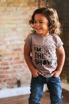 Toddler boy long hair