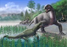 titanophoneus vs ulemosaurus by atrox1 on DeviantArt