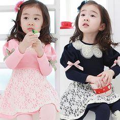 Aliexpress.com : Buy 2014 spring and autumn lantern sleeve girls clothing baby child long sleeve dress qz 0412 on Kids Fashion Clothing - Wo...