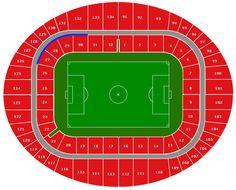 Arsenal Emirates Stadium Seating Plan