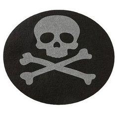 Happy Halloween Skull and Crossbone Placemats set of 4 Happy Halloween http://www.amazon.com/dp/B00AVX5DO4/ref=cm_sw_r_pi_dp_ktn2tb1GJJ9SQX42