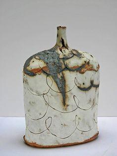 Jane Wheeler  Ceramic Bottle