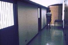 14 Prison Hallway