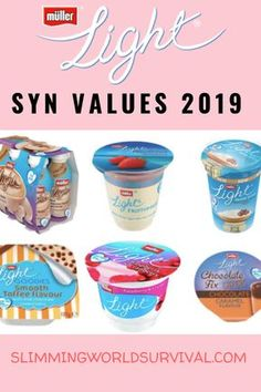 Syn Values Changed for Muller Lights in Check the updates values here. astuce recette minceur girl world world recipes world snacks Slimming World Shopping List, Slimming World Syns List, Slimming World Survival, Slimming Workd, Slimming World Syn Values, Slimming World Dinners, Slimming World Recipes Syn Free, Slimming World Plan, Slimming Eats