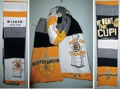 SOLD! Boston Bruins Wicked Big Fan Upcycled Tshirt by StellaHudson33, $30.00